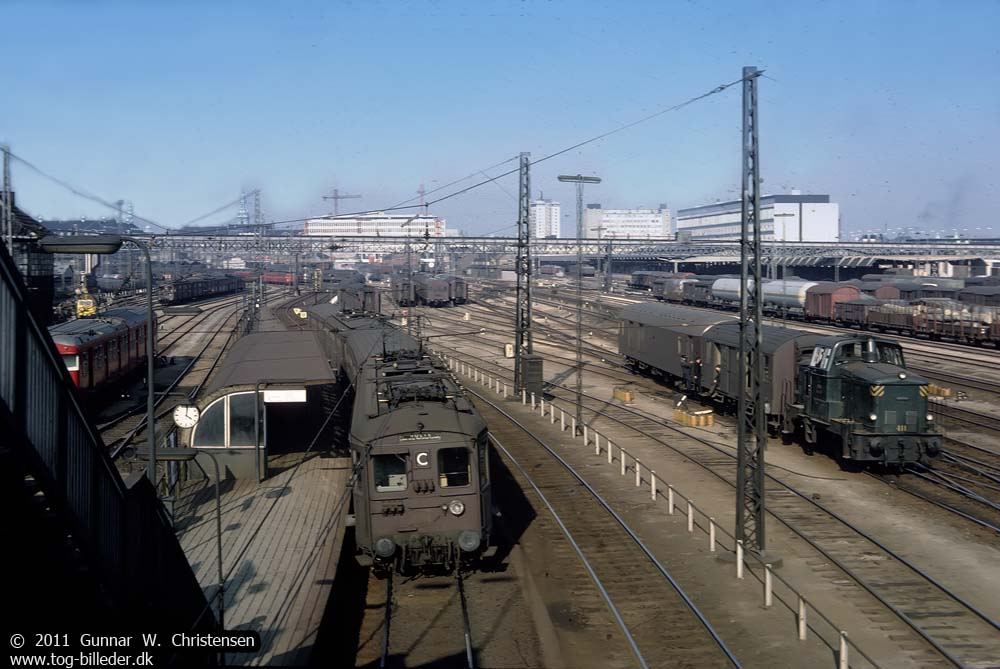 Danmark - DSB - S-tog - 1. generation - linie C - tog-billeder.dk